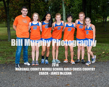 2018 Marshall County Girls Middle School Cross Country