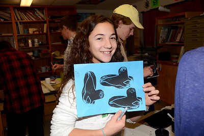 LTS Art ... Block Tile Prints photos by Gary Baker