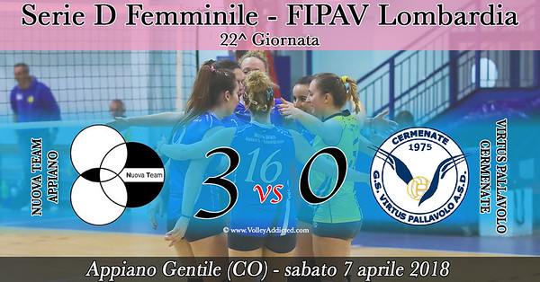 LOM-Df: Nuova Team Appiano - Virtus Cermenate