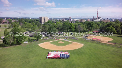 Bridgeport American Legion Baseball's Salute to Public Servants (6/13/15)