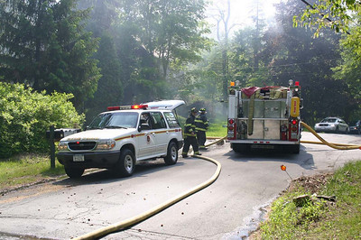 Hyde Park Mill Road Fire - May 26, 2008
