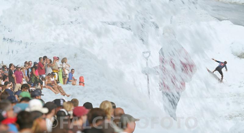Riding the Snow Foam