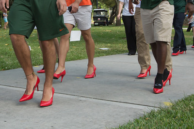 Walk a Mile in Her Shoes - April 10, 2014