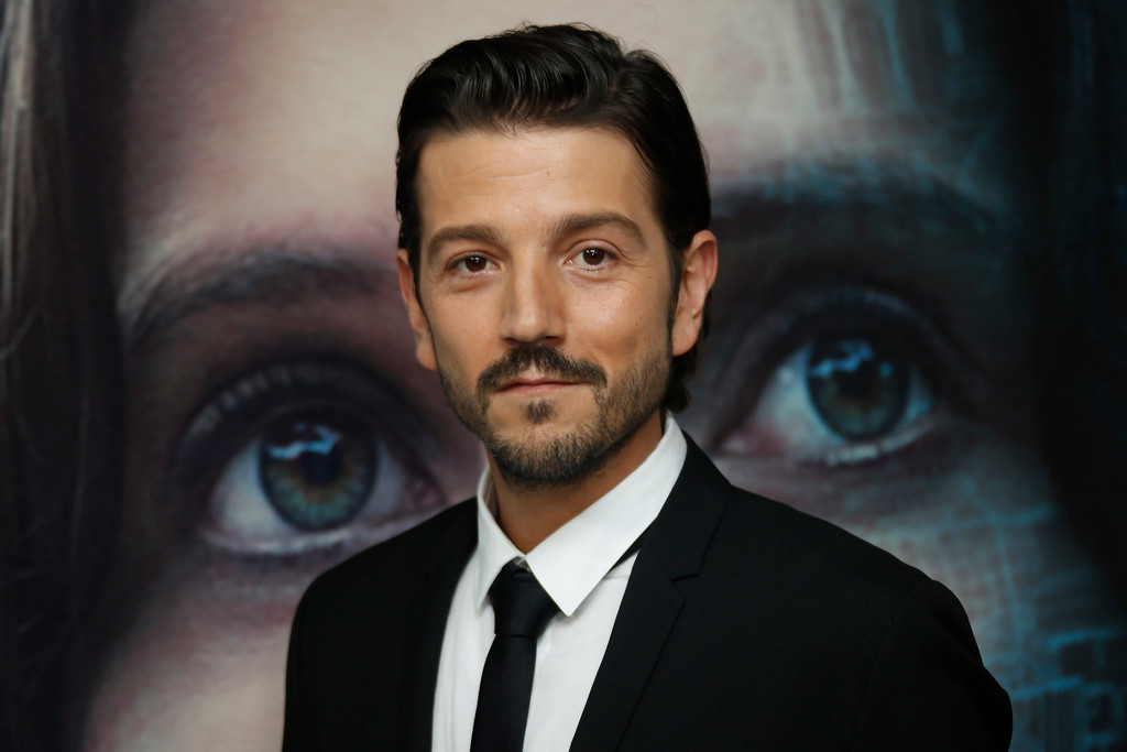 . Actor Diego Luna poses for photographers upon arrival at the Rogue One: A Star Wars Story fan screening in London, Tuesday, Dec. 13, 2016. (Photo by Joel Ryan/Invision/AP)