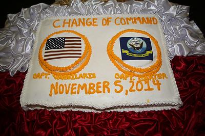 2014-11-05 USS Bataan - CAPT Vassilakis, George (Navy) Releived
