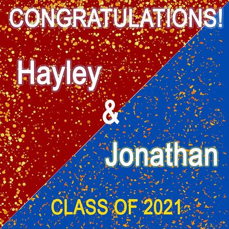 Happy Graduation! Hayley & Jonathan