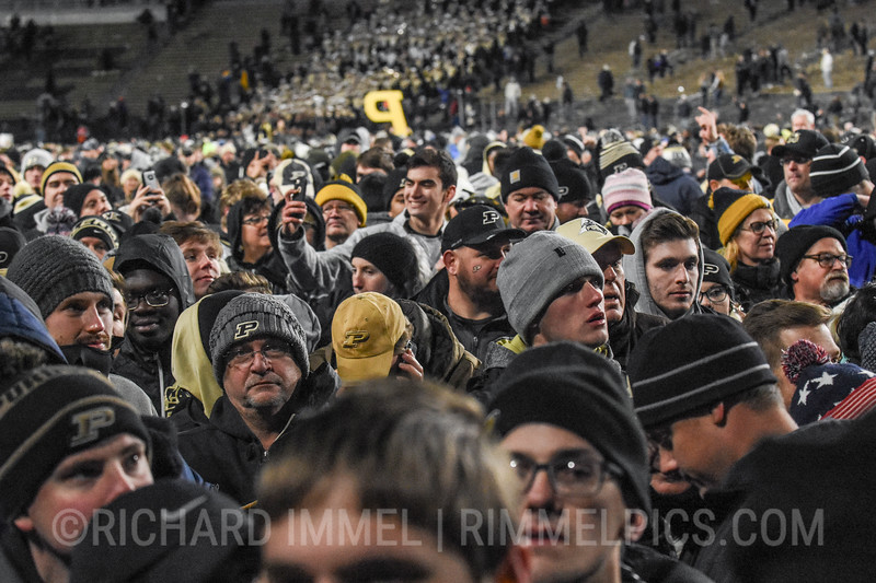 Purdue defeats No. 2 Ohio State, 49-20, at Ross-Ade Stadium, West Lafayette, Ind., October 20, 2018.