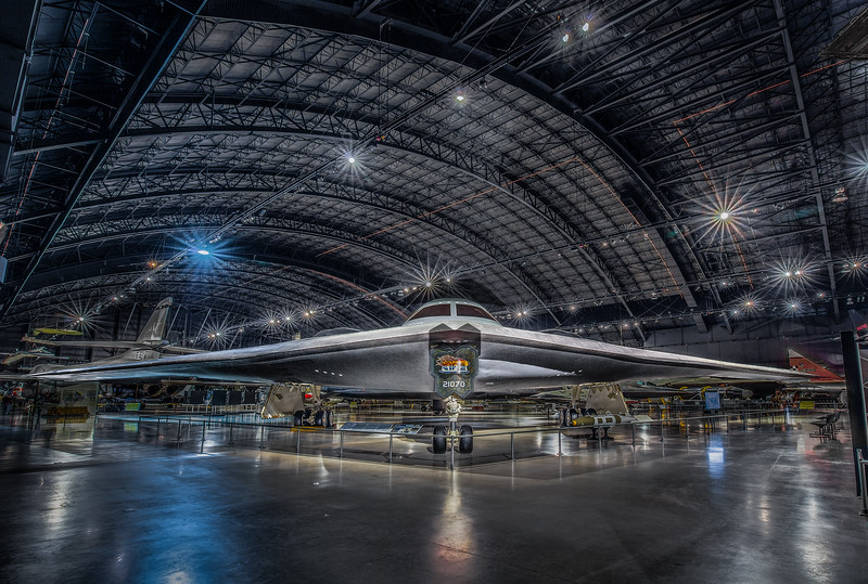B-2 Stealth Bomber by Northrop Grumman at Air Force Museum, Dayton OH