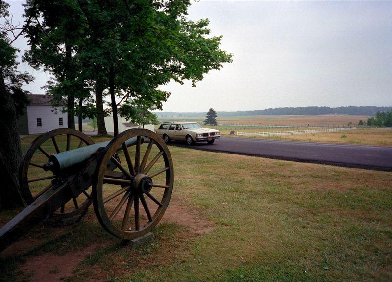 Gettysburg battlefiefd