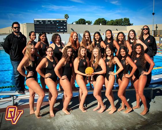OV Girls Water Polo 2016