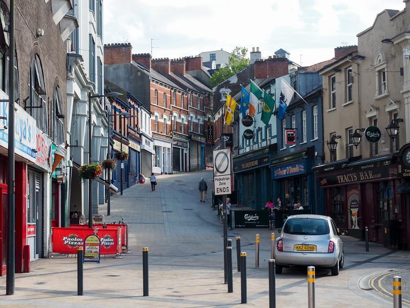Street in Derry, Northern Ireland