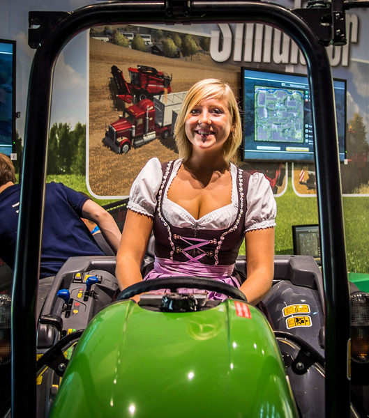 Farming simulator at Gamescom 2013
