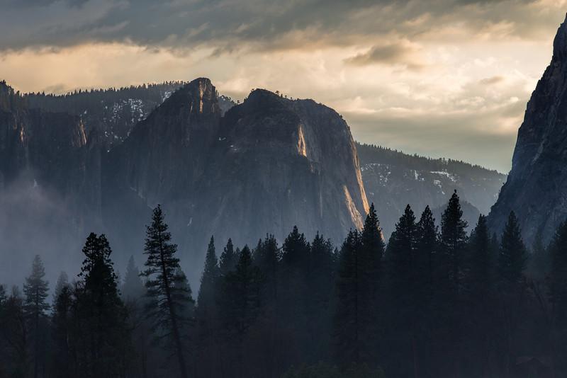 Morning in Yosemite Valley