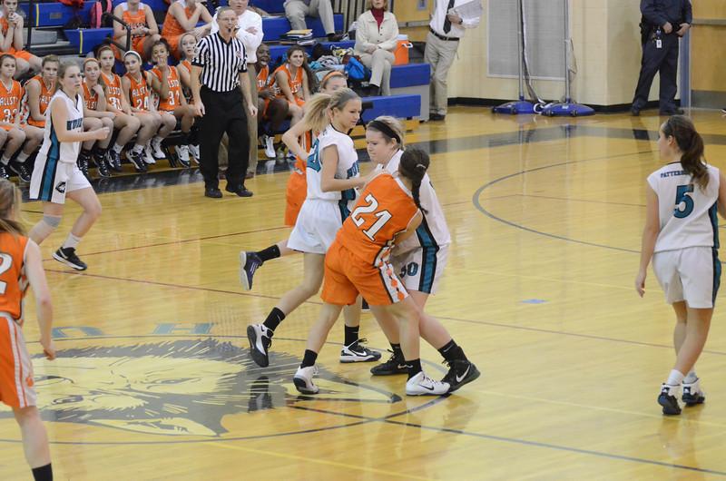 Girls JV Basketball Jan 8 vs Fallston