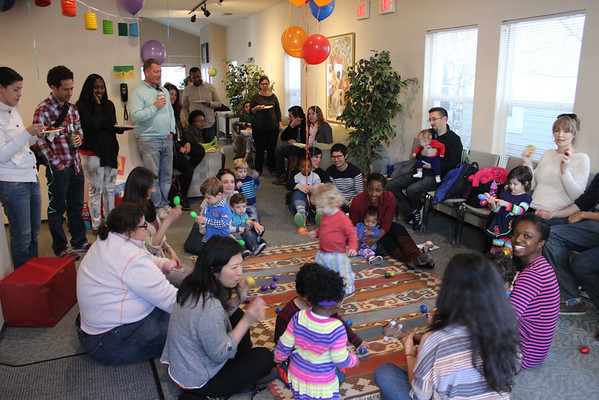 Malcolm's 1st Birthday Party