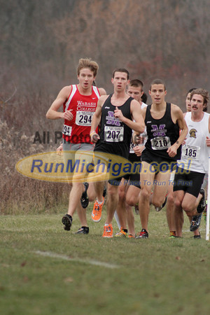 2 Mile, Men's Race - 2013 NCAA III XC Great Lakes Regional