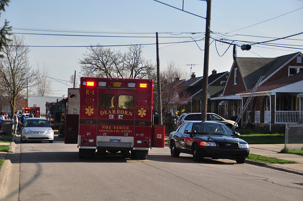 Dearborn Fire - Bingham Street 4-26-13