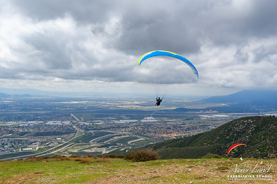 NeverLand Paragliding Lessons   Drew   March 9, 2019