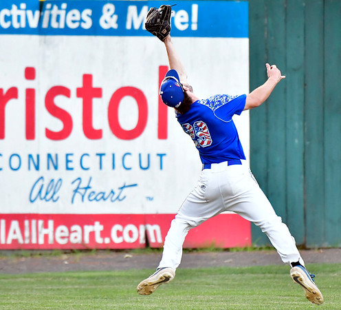 7/5/2019 Mike Orazzi | Staff The Bristol Blues's Parker Upton (29) Friday night at Muzzy Field.