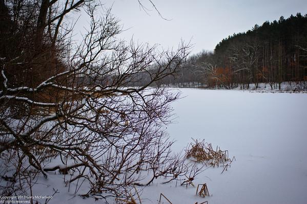 Proud Lake in Winter