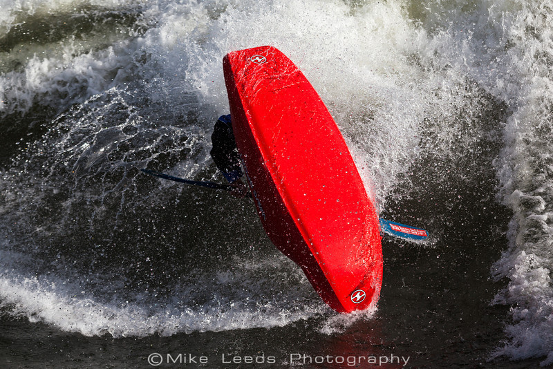 Will Parham with a Pan-am at the Bladder Wave Main Payette River Idaho.