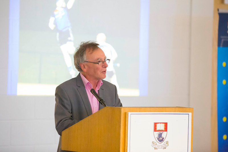 WIT holds event to honour 2016 All Ireland medal winning students. Pictured is Prof. Willie Donnelly, President of WIT. Picture: Patrick Browne  Waterford Institute of Technology's presence and influence across Gaelic Games at a national level in 2016 has been very noticeable. In total there are 32 past and present WIT students on the respective playing panels that won All Ireland medals in 2016 and a further 4 members on the backroom management teams.   To honour this huge achievement, WIT GAA Club is paying tribute to these 36 past members on securing these prestigious national titles on Monday 3 October, 6.30pm at the WIT Arena.   Along with the players, the prestigious cups, including the All Ireland Senior Hurling Cup- Liam McCarthy, the All Ireland Senior Camogie Cup- O'Duffy, The All Ireland Minor Cup and the All Ireland Under 21 Hurling Cup- James Nowlan, will be on show on the night.