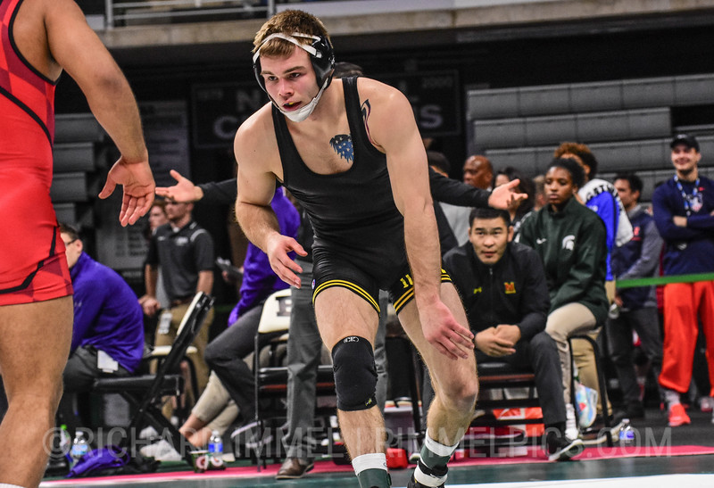 149: Branson Sorensen (Iowa) dec. Alfred Bannister (Maryland), 4-3
