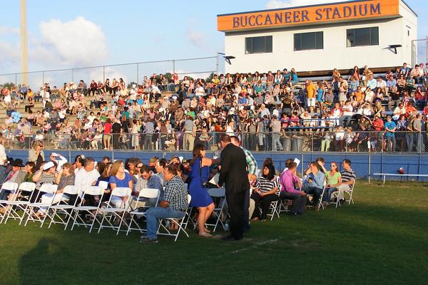 Branford High School graduation 2013