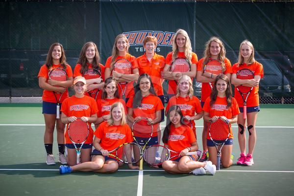 Wheaton College 2015-16 Women's Tennis