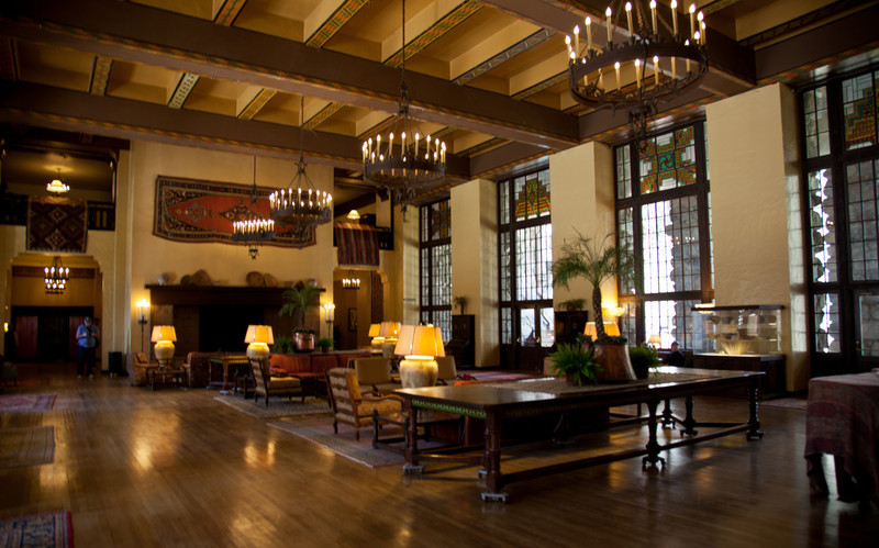 The Grand Lounge at The Ahwahnee