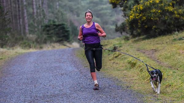 Newborough Forest Park Run - 4th January