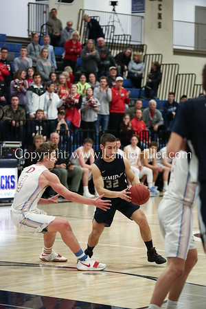 BHS BOYS vs DL, SECTION GAME, MARCH 6, 2018