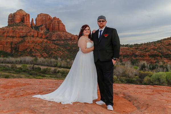 Kristine & Tyler's Sedona Wedding