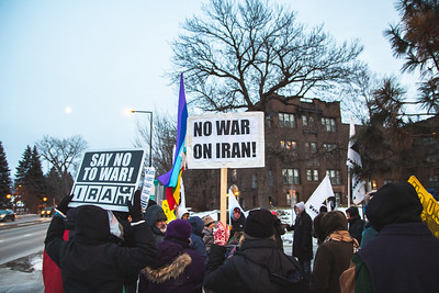 No War on Iran - Jan 8