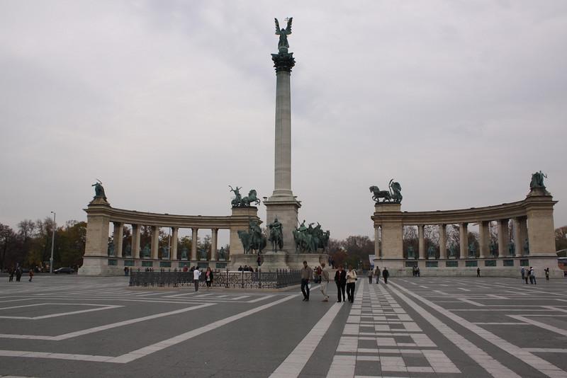 Millennium Monument at Heroes Square