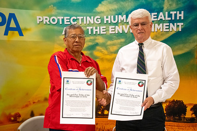 Tribal Council and MNR Signing with EPA