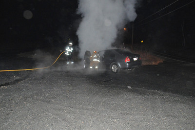 WEST MAHANOY TOWNSHIP WILLIAM PENN VEHICLE FIRE 3-15-2011 PICTURES AND VIDEO BY COALREGIONFIRE