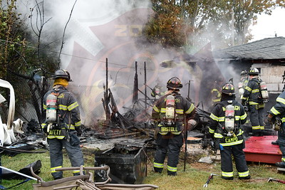 Wantagh F.D.  Shed/Garage Fire   Whittier Ave. 9/27/20