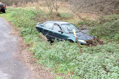 Car Into Ditch, Meadow Lane, Walker Township (10-28-2012)