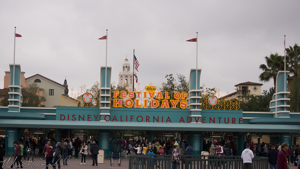 Disneyland Resort, Disney California Adventure, Christmas, Holiday, Festival