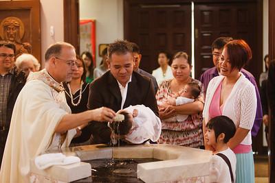 Brielle Baptism