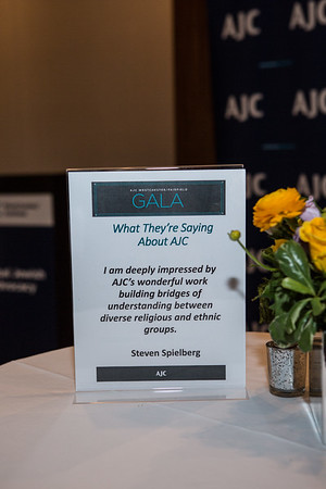 AJC Westchester/Fairfield Gala Event 5/16/19