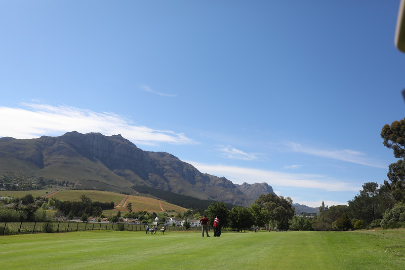 STELLENBOSCH, SOUTH AFRICA - OCTOBER 2: Hole 8 during the held at Stellenbosch Golf Club on October 2, 2018 in Stellenbosch, South Africa. EDITOR'S NOTE: For free editorial use. Not available for sale. No commercial usage. (Photo by Carl Fourie/Sunshine Tour)