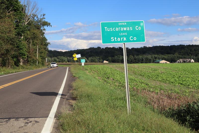 Tuscarawas-Stark county line