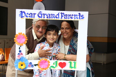 Grand Parent's Day At Kondapur