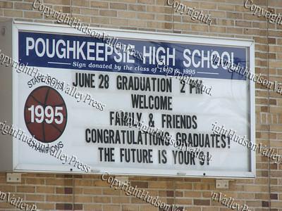 Poughkeepsie High School Graduation