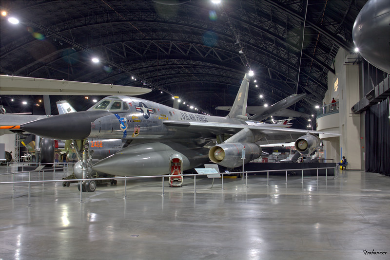 National Museum of the United States Air Force, Dayton, Ohio,   04/13/2019  Convair B-58A Hustler C/N 61 59-2458  This work is licensed under a Creative Commons Attribution- NonCommercial 4.0 International License.
