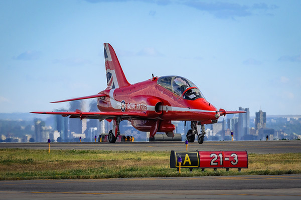 RAF Red Arrows North American Tour 2019