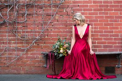 Model: Kat Kibby, HMUAs: Jessica Schifferle / Emily Tuddenham, Floristry: Bonnie Ellen King