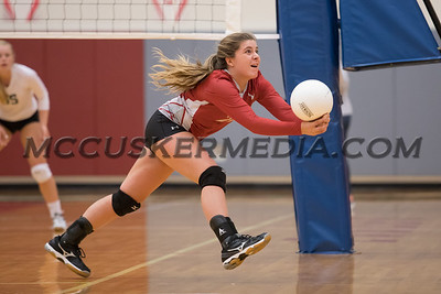 Volleyball17 - York Catholic @ Bermudian Springs